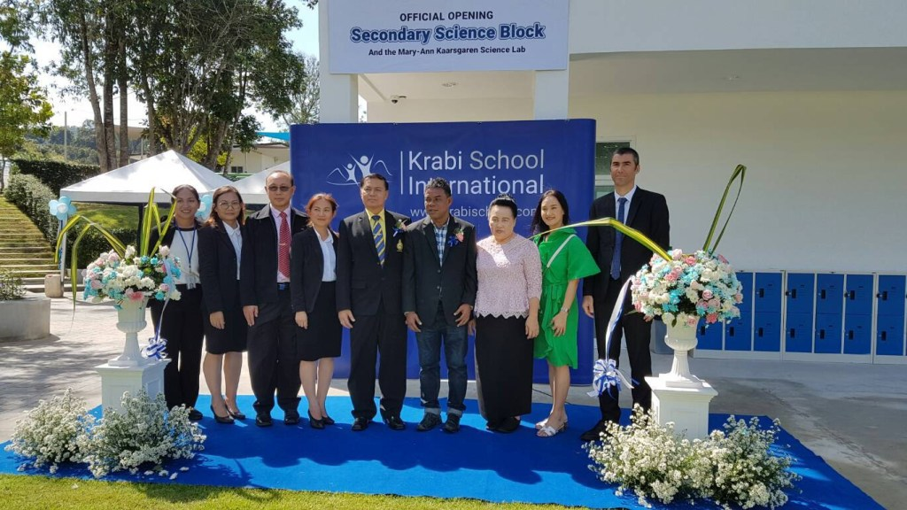 Opening Ceremony of the Science Block & Mary-Ann Kaarsgaren Science Laboratory in Krabi