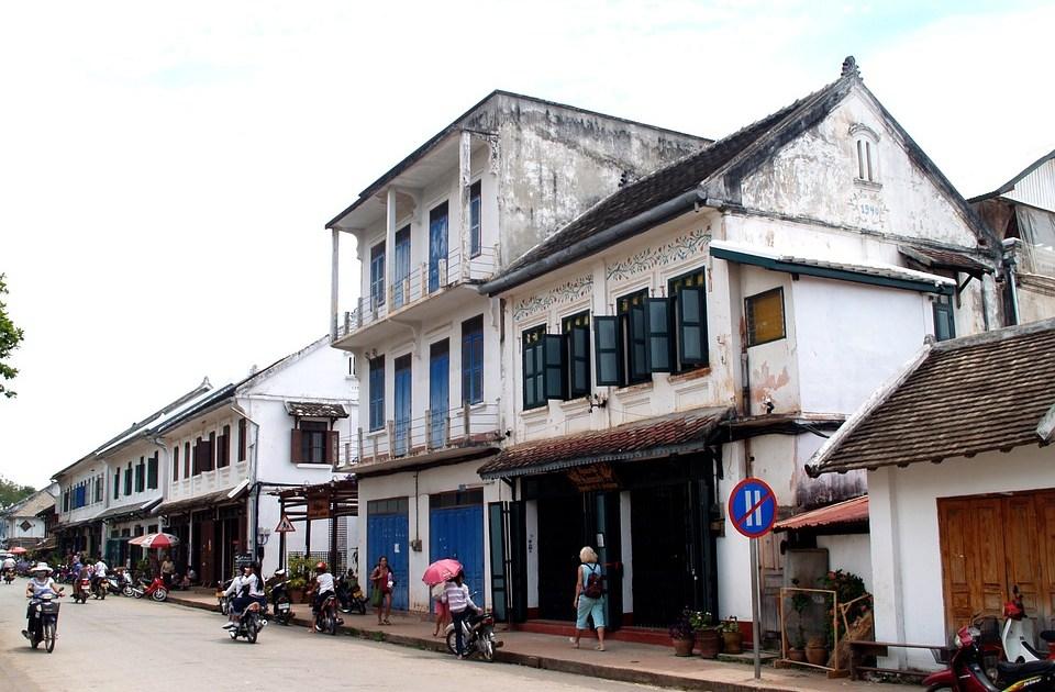 Town in Laos