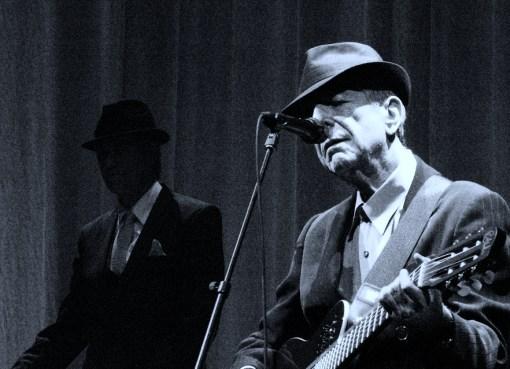 Canadian singer and songwriter Leonard Cohen