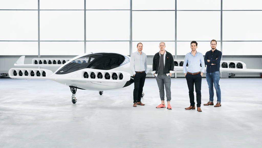 Lilium air taxi is capable of traveling up to 300km in just 60 minutes, with zero operating emissions