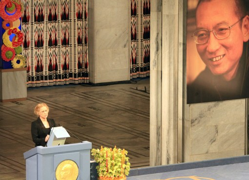 Liu Xiaobo Nobel Peace Prize 2010
