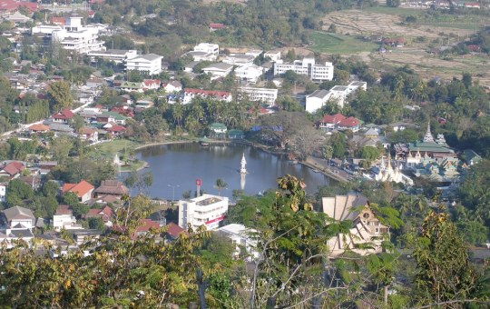 Mae Hong Son town in north west Thailand