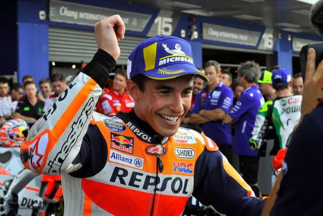 Marc Marquez beats Andrea Dovizioso, wins Thailand MotoGp