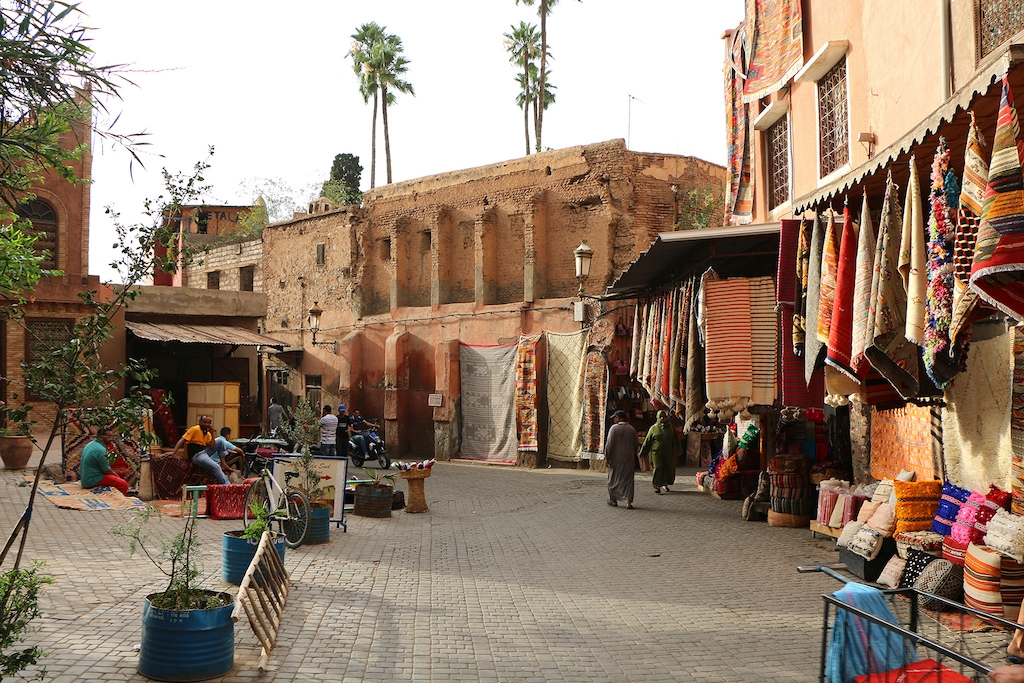 Village in Marrakech (Morocco), Africa