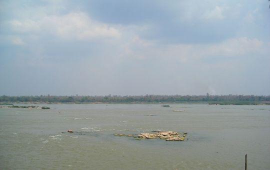 The Mekong River near Mukdahan,