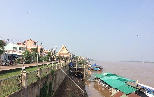 Mekong River in Nai Mueang, Nong Khai