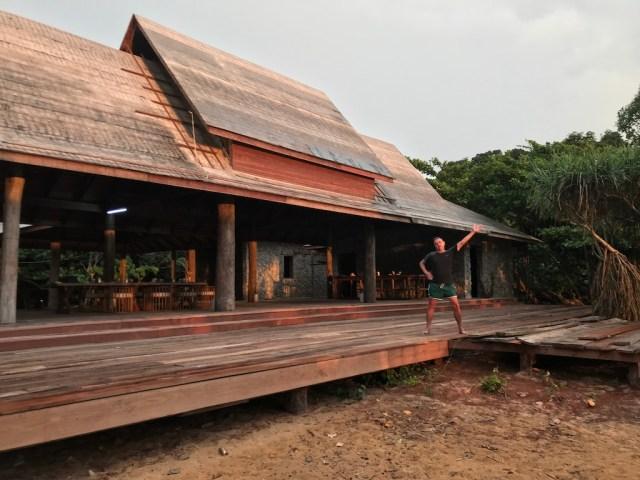 Wooden house in Mergui archipelago,