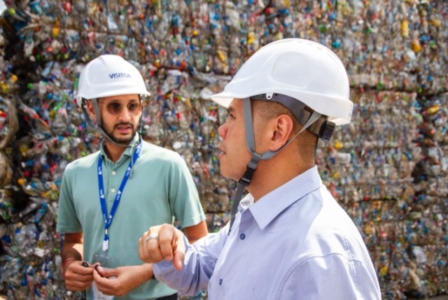 The Ministry of Natural Resources and Environment at PET Recycling Facility in Nakhon Pathom