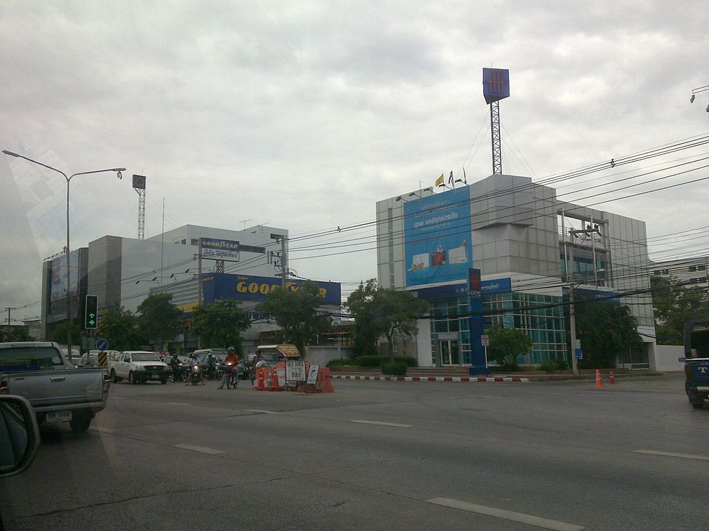 Mittraphap Road in Korat