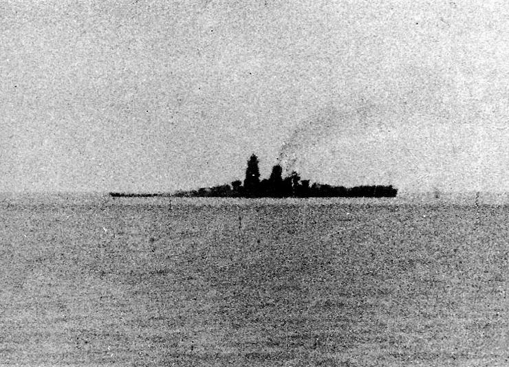 Japanese battleship Musashi 24 Oct 1944