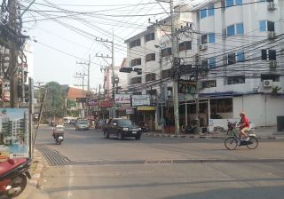 Street in Na Kluea, Bang Lamung District, Pattaya