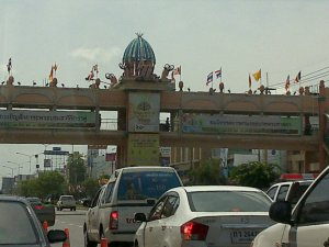 Mittraphap Road in Nakhon Ratchasima
