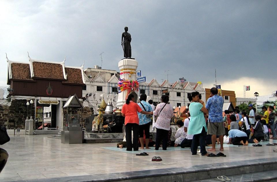 Thao Suranaree monument in Korat
