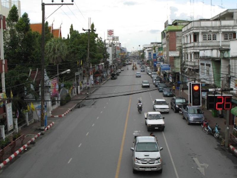 Ratchadamnoen Street in Nakhon Si Thammarat
