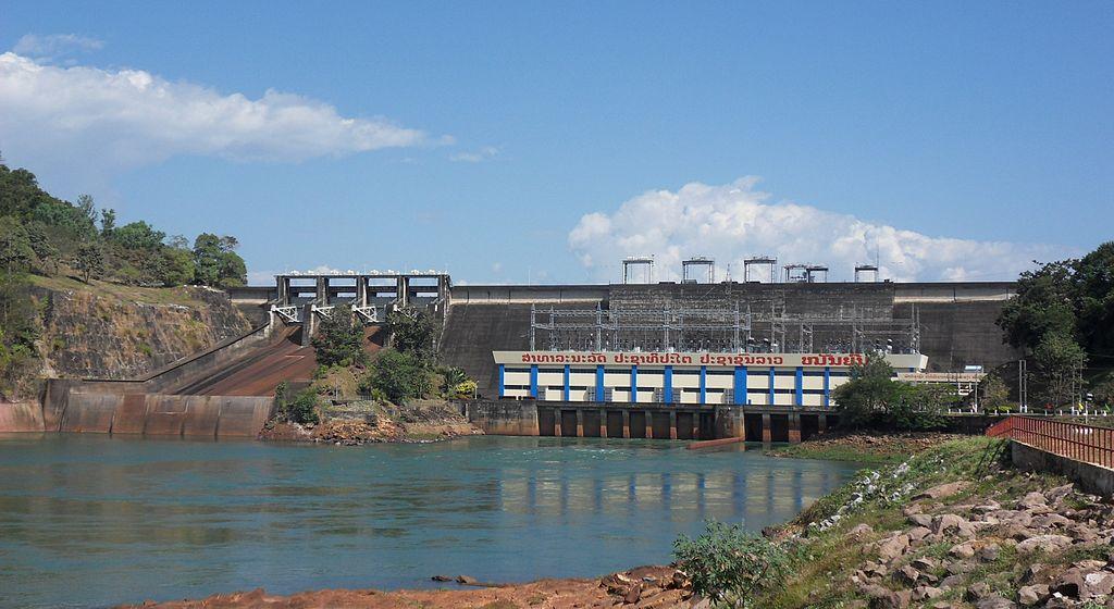 Nam Ngum 1 Dam in Laos