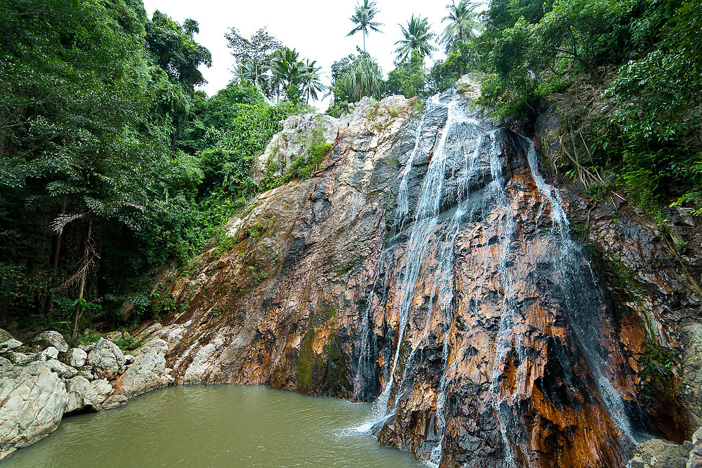 Namuang Waterfall in Koh Samui