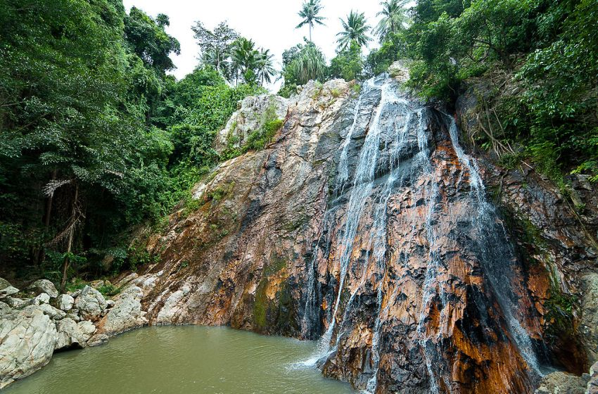 Namuang Waterfall in Koh Samui
