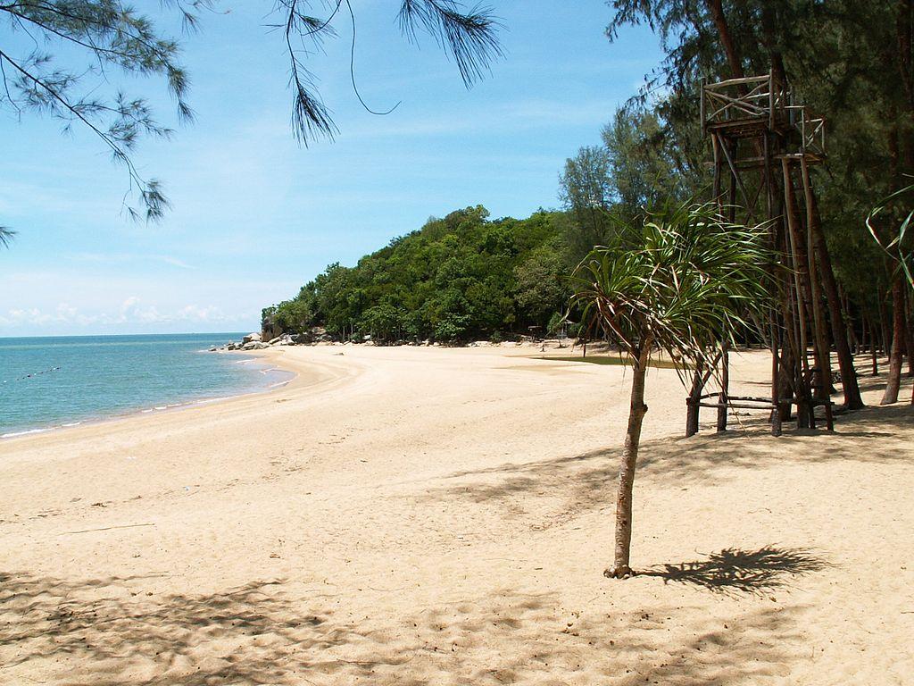 Ao Manao Beach in Narathiwat