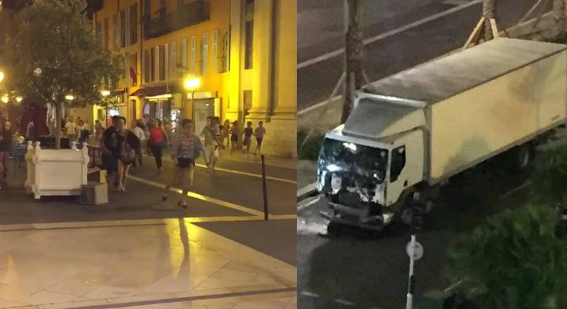 Dozens dead after truck crashes into crowd in Nice