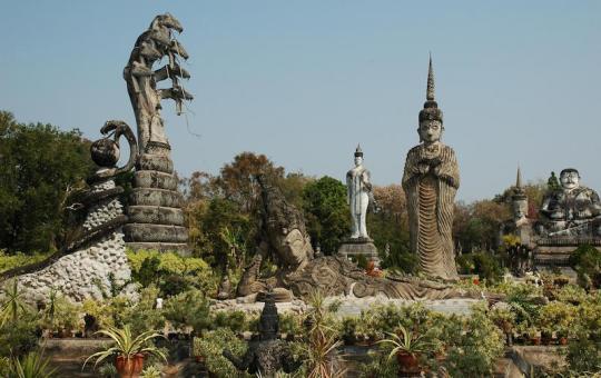 Sala Kaew Ku park in Nong Khai
