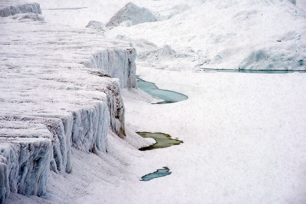 Ice in the North Pole