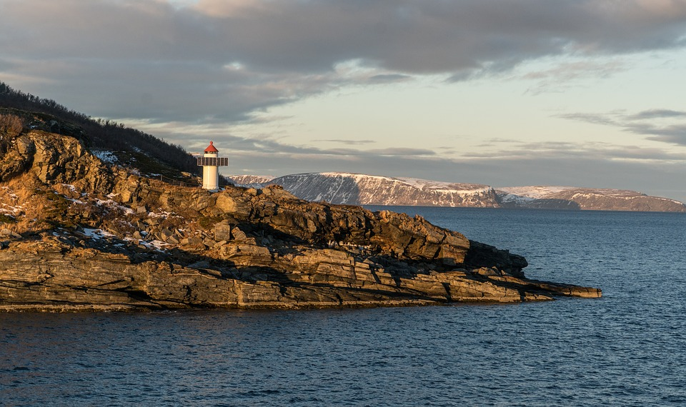 A lighthouse in Norway