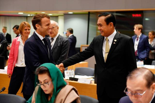 PM satisfied with 12th ASEM in Brussels