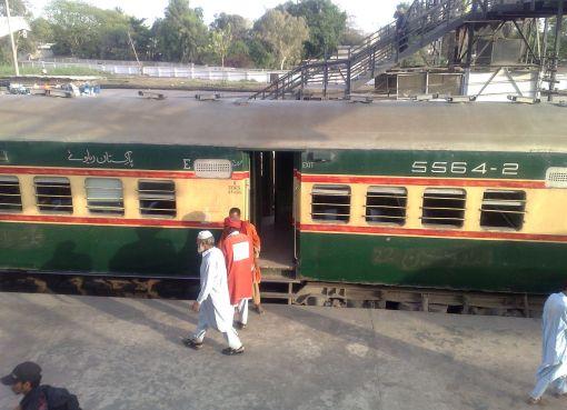Pakistan Railways train