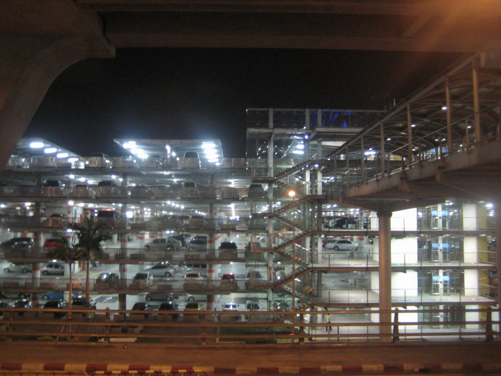 Parking building at Suvarnabhumi International Airport, Bangkok
