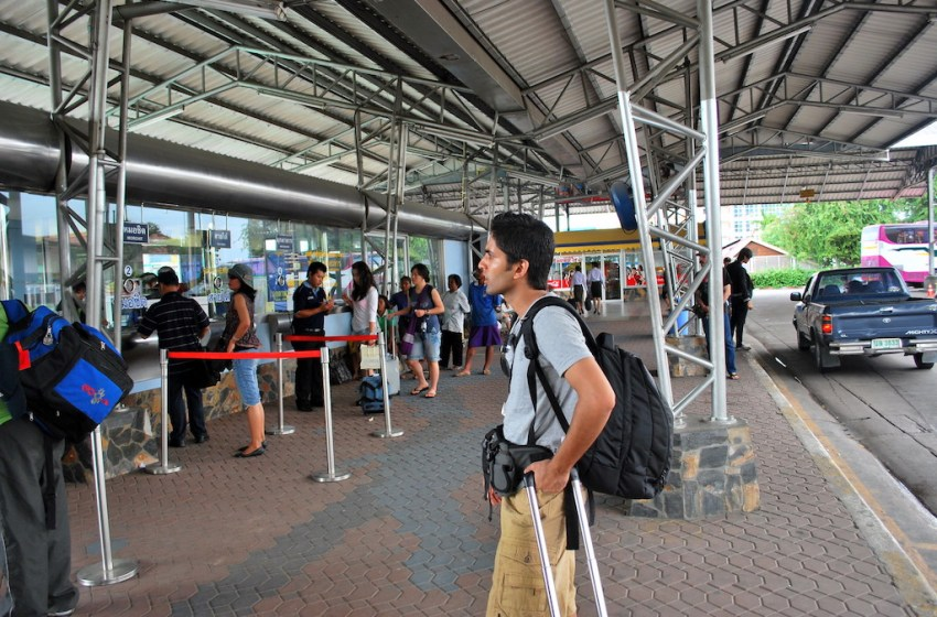 Pattaya Bus Station Terminal
