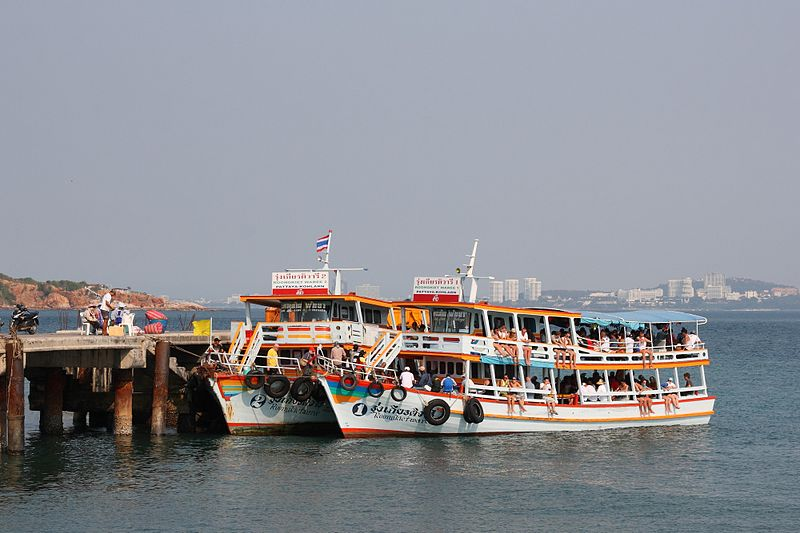Pattaya-Koh Larn ferry