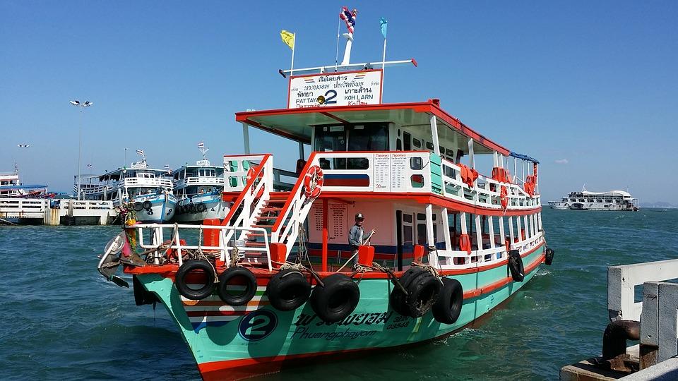Koh Larn ferry, Pattaya