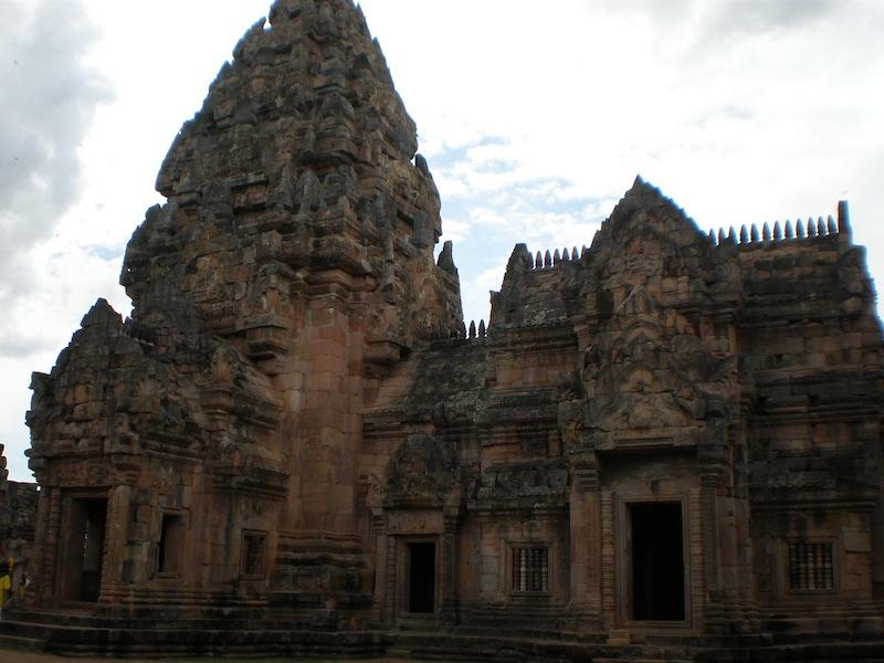 Prasat Phanom Rung Khmer temple in Buri Ram
