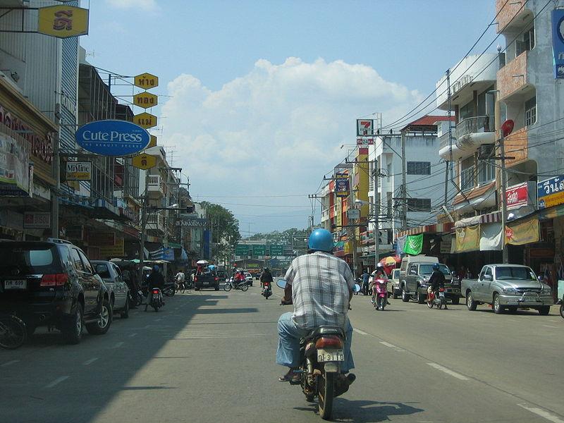 Street in Phetchabun