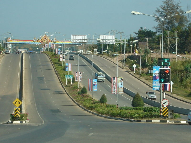 road in Phetchabun Province