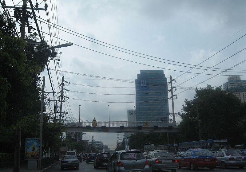 View of Phetchaburi town