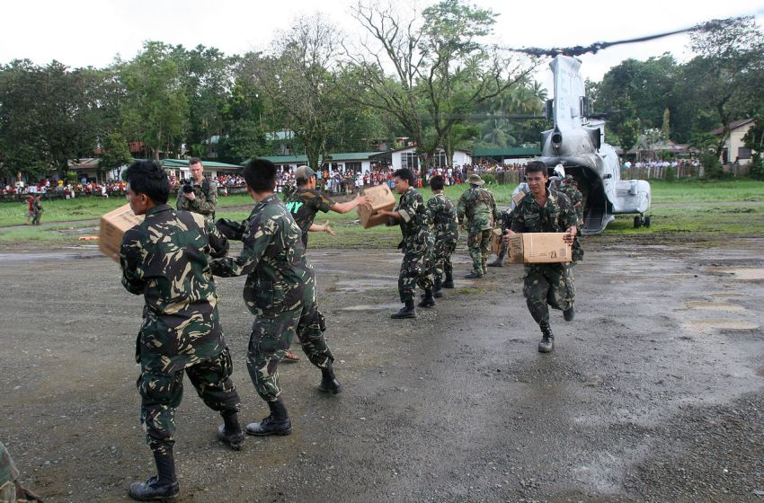 Philippine Army and US Marines