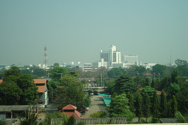 Skyline of Phitsanulok