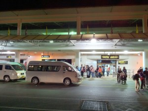 Phuket International Airport (HKT) entrance