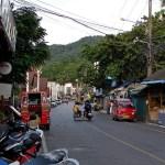 Luang Phor Chuan road in Karon Beach, Phuket
