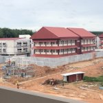 Phuket Provincial Prison under construction in Thalang District