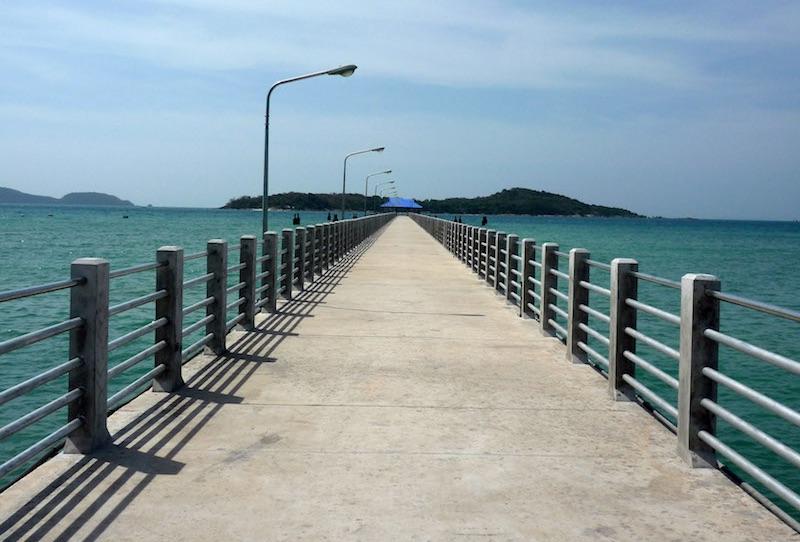 Pier in Rawai, Phuket.