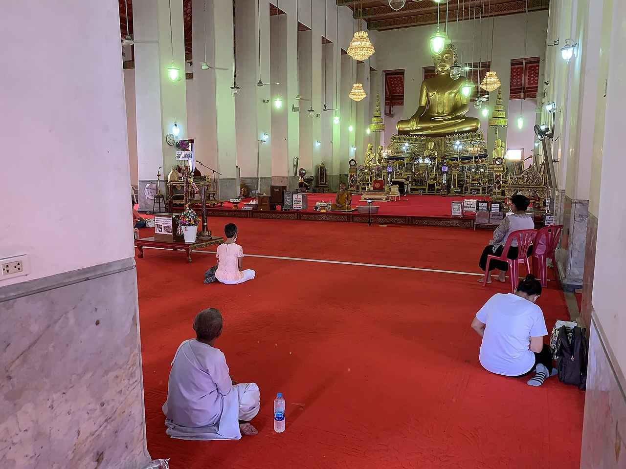 Temple Isolation established to handle increase in COVID infected Buddhist monks