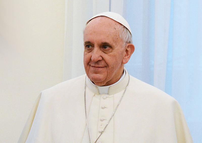 Pope Francis, real name Jorge Mario Bergoglio