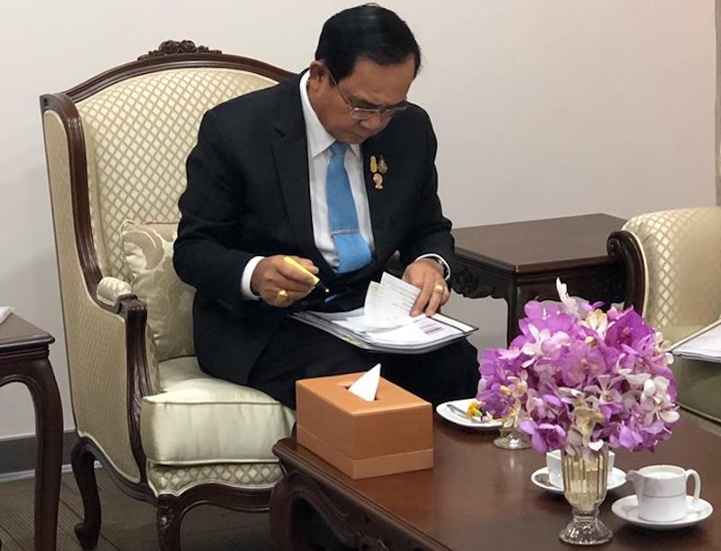 Prayut Orders Quick Probe into Samut Prakan Gas Pipe Explosion