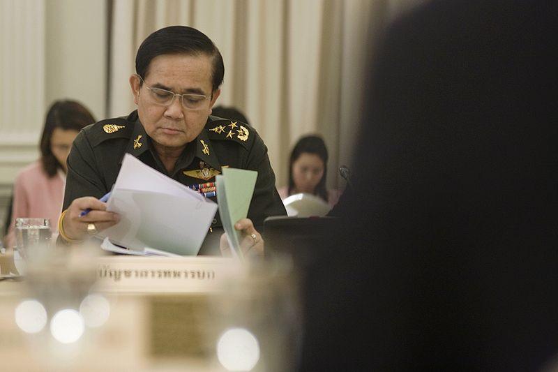 Thai army chief Prayuth Chan-ocha's ballad (Video)