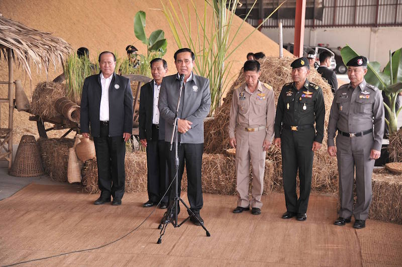 Prayut Chan-ocha and government members