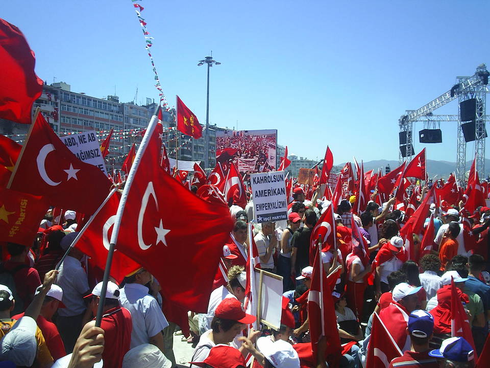 Rally in Turkey