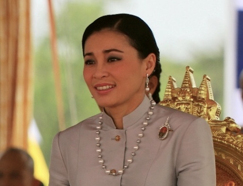 HM Queen Suthida attending royal ploughing ceremony in Sanam Luang, Bangkok