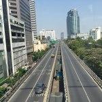 Rama IV Road in Pathum Wan, Bangkok
